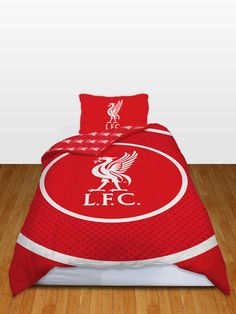 Liverpool FC Bullseye Single Reversible Duvet Cover - Bedding Set - great bedroom set with free delivery