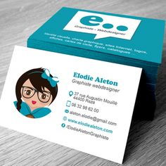Cartes De Visite Graphiste Recto Verso Cv Modle Carte Creation