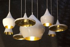 New: Beat Lights White by Tom Dixon