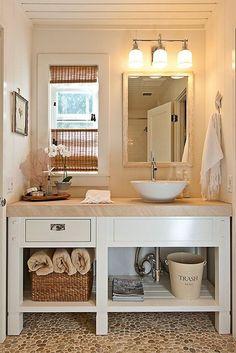 Mediterrán fürdőszoba berendezés