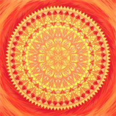 Mandala Jsi krásná, potřebná a milovaná bytost Outdoor Blanket, Inspire