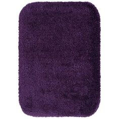 Eggplant Better Homes And Gardens Extra Soft Bath Rug Collection