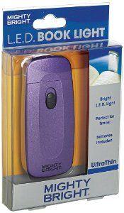 Mighty Bright UltraThin Book Light, Purple