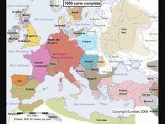 HISTOIRE DE L'AFRIQUE DU NORD DES ORIGINES A NOS JOURS (cartographie complete) - YouTube