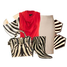 zebra, created by aannggiiee on Polyvore