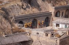 Caves, cave dwellings, China, ecological homes, green architecture, chinese caves, green architecture