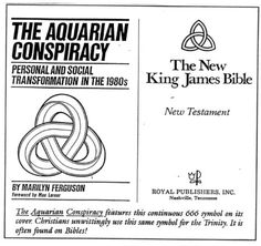 Satanic symbolism on new bible versions. Many new bible versions are corrupt. Only use the KJV.