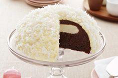 Gâteau « boule de neige » au chocolat