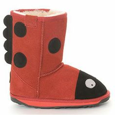 EMU Little Creatures - Worn by Suri Cruise Bearpaw Boots, Ugg Boots, Emu, Your Shoes, Ladybug, Uggs, Baby Shoes, Cute Outfits, Cruise