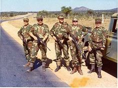 Rhodesia: The Ultimate Photographic Resource! - The FAL Files Homeless Veterans, Real Steel, Free State, Ol Days, Special Forces, Military History, South Africa, How To Find Out, Past