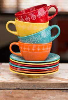 Juego de #café #vajillas nueva colección Corona