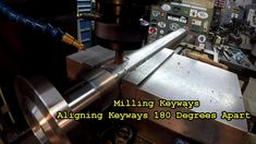 Gearbox Shaft for Well Drilling Part 7: Keyways