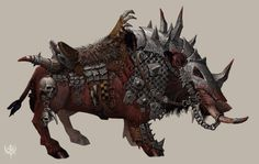 Ecology of the Dire Boar