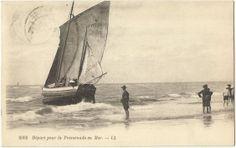 SVSS - Départ pour la promenade en mer