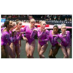 Armour: Simone Biles, Gabby Douglas make history look easy at Worlds Us Olympic Gymnastics Team, Gymnastics Girls, Madison Kocian, Laurie Hernandez, Gymnastics Championships, Olympic Trials, Gymnastics Pictures, Simone Biles, Gabby Douglas