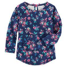 Toddler Girl OshKosh B'gosh® Floral French Terry Pullover, Ovrfl Oth