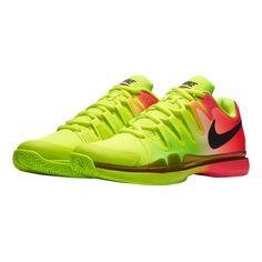 c7d621764ebd Nike Roger Federer Zoom Vapor 9.5 Tour Allcourtschuh Herren - Neongelb