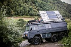 Pinzgauer 6x6 Expeditionsmobil Phoenix