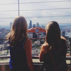 Chi Omega sisters in Seattle!