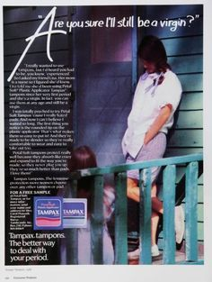 "This is a terrible, terrible ad from way back in the day. Makes me wonder how anyone could yearn for ""the good old days"""