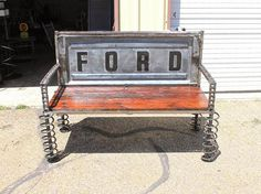 Who made the bench out of the rear of a truck bed? - The 1947 - Present Chevrolet & GMC Truck Message Board Network