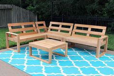 OUTDOOR SOFA PLANS (PART 1) Free DIY outdoor sofa plans to build a cedar plank outdoor sectional for under $100. View Outdoor Sofa Tutorial Build This Project? Share it With Us! E-mail us a photo Tag @grayhousestudio Use #GrayHouseStudio