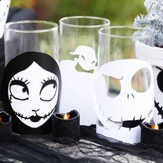 The Nightmare Before Christmas Candle Holders | Disney Family