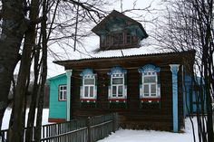 dacha in winter17 by proxypro, via Flickr