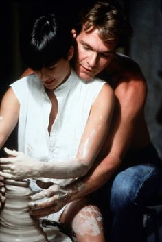 Demi Moore and Patrick Swayze - Ghost