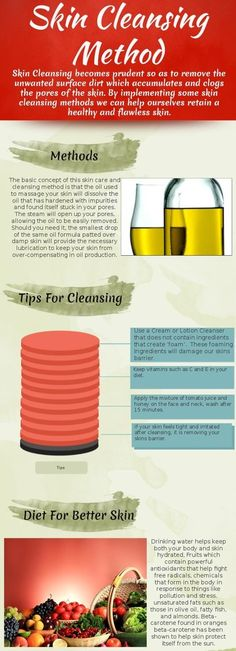 3 Skin Cleansing Tips for You >> chicparlour.com #facial #skincare #infographics