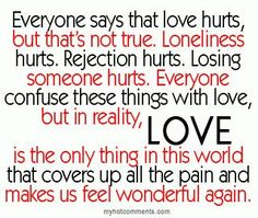 Love doesn`t hurt