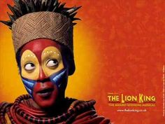 A song from the broadway Musical, The lion king. The picture is from the actuall musical that I got from there website Rafiki Lion King, Lion King Play, Lion King Show, The Lion King, Lion King Broadway, Lion King Musical, Rafiki Costume, Lion King Costume, Hakuna Matata