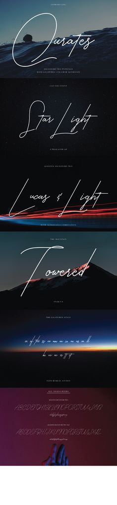 Buy Qurates Signature Two with Alt by TubagusIqbalT on GraphicRiver. QURATES SIGNATURE TWO with ALT A signature style with alternate charachter extra ligatures. Typography Fonts, Typography Logo, Graphic Design Typography, Script Fonts, Calligraphy Fonts, Caligraphy, Logos, Graphic Design Layouts, Web Design