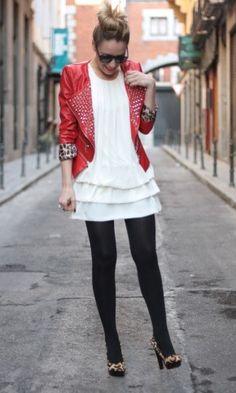 Queens Wardrobe in jacket and dress