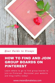 How to Find and Join Group Boards on Pinterest to Drive Website Traffic!    Want to Drive Traffic to your Site? Find and Join Group Boards on Pinterest!OK so I've had a lot of questions recently on how to go aboutfindingPinterest Group Boards.If you're not sure what they are then let me explain.A group board is like a regular board but with more than one collaborator. There may be two people that pin to the board or 200. And they are great f