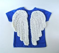 Crochet PATTERN Angel Wings - Two Styles - Appliques, Earrings, Jewelry, Ornament, Amigurumi, Photo Prop, Costume, Pets - PDF Pattern p132