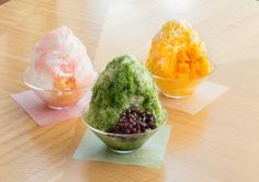 ZƒAƒVƒOƒjƒX bJOSHI+ Bingsu, Cantaloupe, Ice Cream, Sweets, Fruit, Cooking, Ethnic Recipes, Food, Tokyu