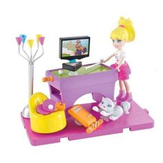 New & Improved Polly Pocket dolls with stick n' play technology