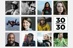 30 of the outdoor industry's most promising young talents are recognized for their achievements with a new '30-under-30' award. These are the names you should know.