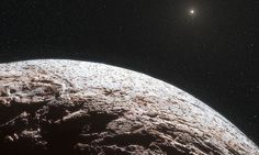 Makemake, named after a Polynesian god, was discovered in 2005 but scientists have just now made the first detailed study of this distant planet's size, shape and surface.