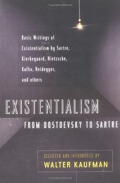 """ONLINE BOOK """"Existentialism from Dostoevsky to Sartre by Walter Kaufmann""""  link story wiki audio ebay mobile mp3 pc"""