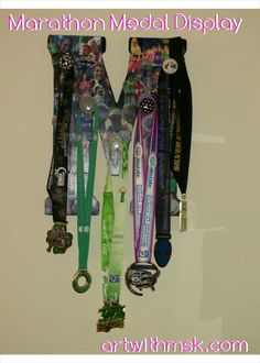 Posts about Art BY Ms.K written by artwithmsk Medal Holders, Fun Projects, Marathon, Racing, Display, Artwork, Ms, Favorite Things, Letter