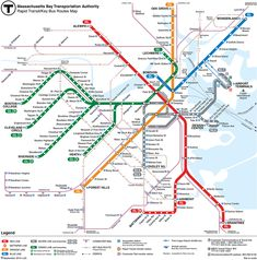 The MBTA website is a great place to start to find your way around Boston.