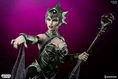 Masters of the Universe Evil-Lyn Statue by Sideshow Collecti | Sideshow Collectibles