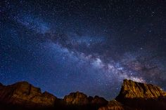 Milky Way Over Zion by DannyLamNYC, on Flickr