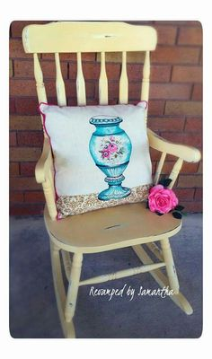 Rocking chair by Revamped by Samantha