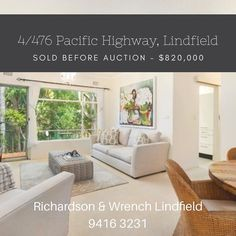 Another two bedder on the highway sold! #lindfield #randwlindfield #apartment #northshore #pacifichighway