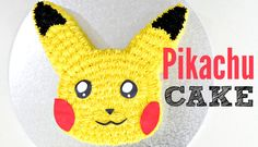 Pikachu Pokemon Cake - COLLAB ZOES FANCY CAKES AND CAKE STYLE