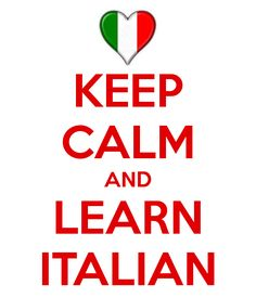 Learning Italian can be fun! Just relax and keep practicing! #LanguageLearning #Learn #Italian