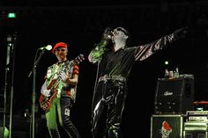 The Damned's Captain Sensible, left, and Dave Vanian begin a U.S. tour at the Belasco on Thursday, April 6.